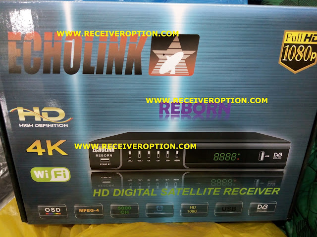 HOW TO CONNECT WIFI IN OLD MODEL ECHOLINK REBORN HD RECEIVER