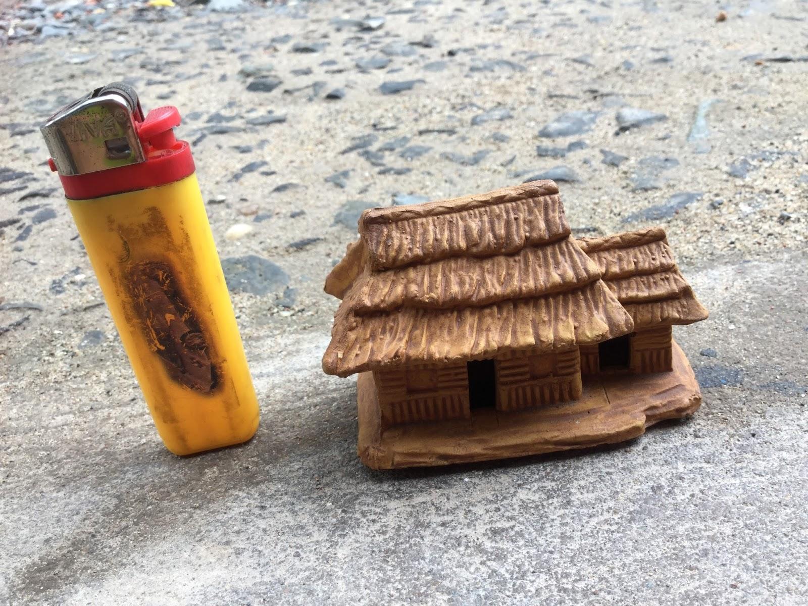 ngôi nhà nhỏ trang trí hồ thủy sinh