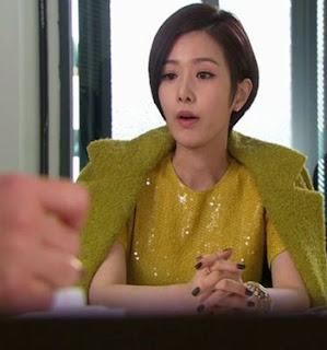 mulher fria e arrogante rival de Se Kyung