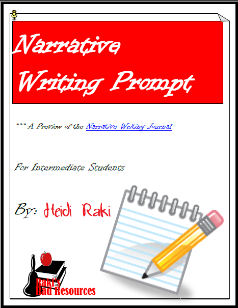 Free narrative writing prompt to guide your students through the writing process. Developed by Raki's Rad Resources.