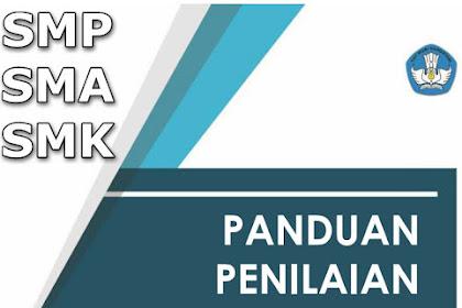 Download Buku Panduan Penilaian SMP SMA, dan SMK Terbaru Format Pdf