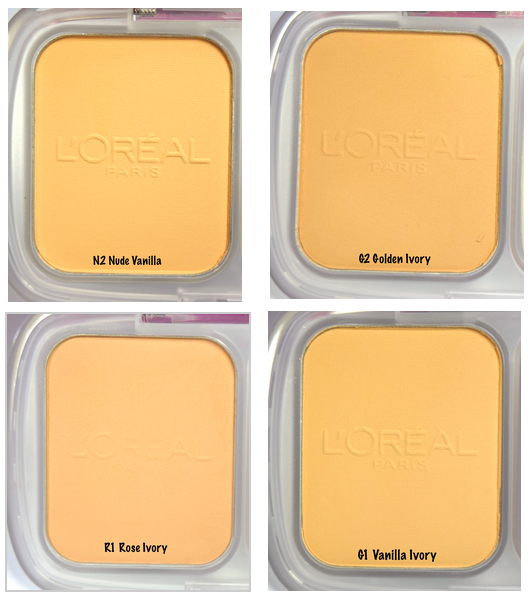L'Oreal Mat Magique Matte Transforming Powder in G2 Golden Ivory ...
