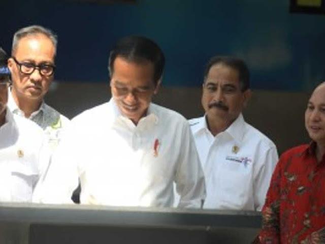 Jokowi Resmikan Kawasan Ekonomi Khusus (KEK) Tanjung Kelayang