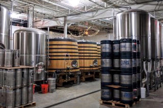 Right Proper Brewing Company production room