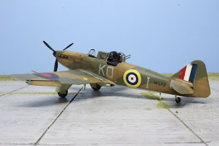 Boulton paul defiant d'Airfix au 1/48.