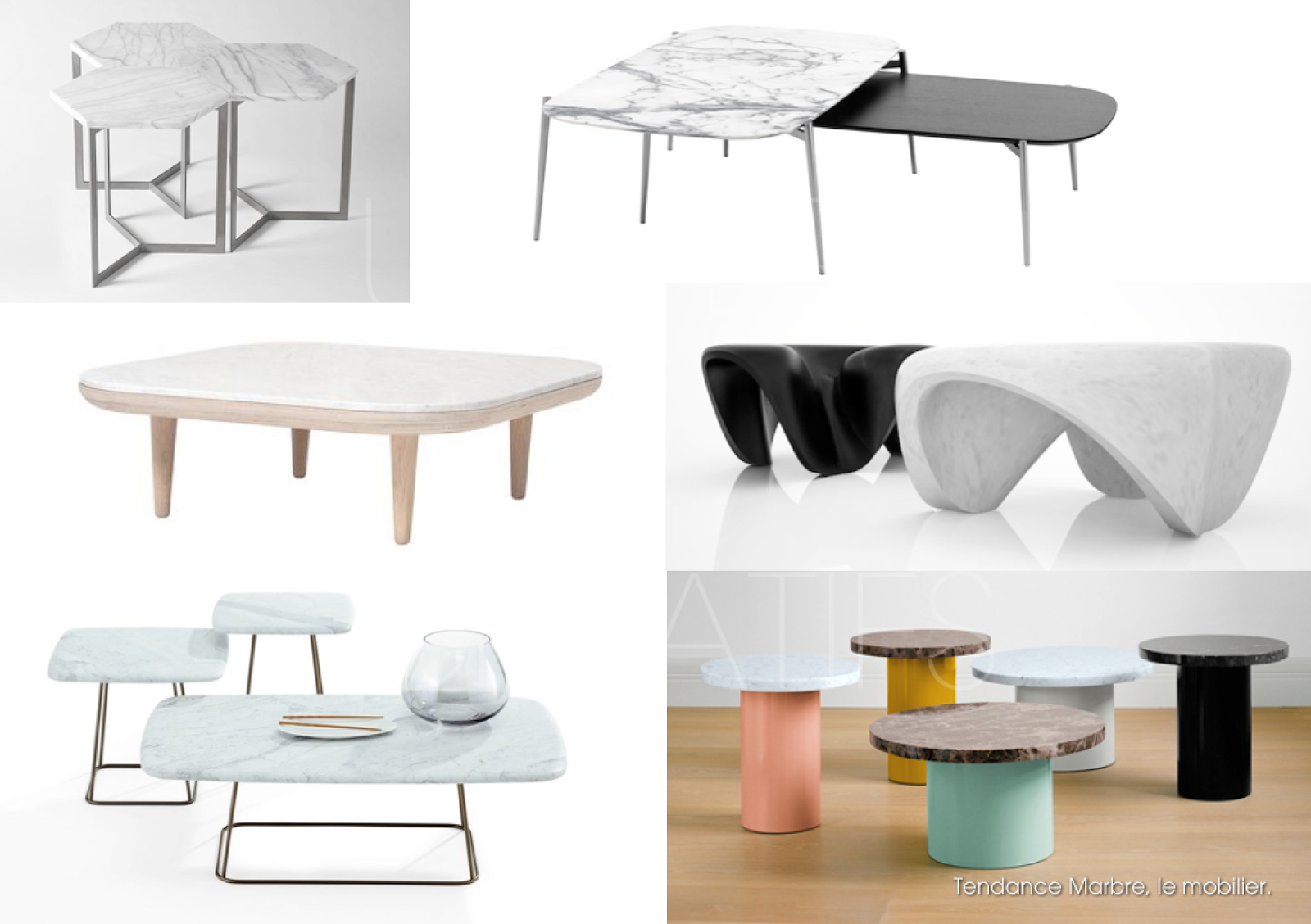 Table Marbre Ampm Revger Table Marbre Blanc Ampm Idée Inspirante