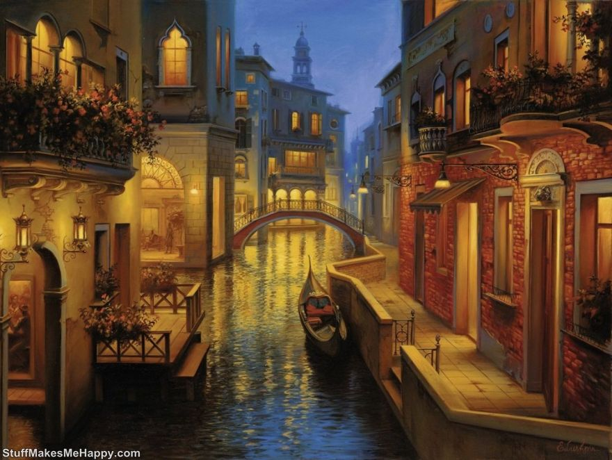 Awe-Inspiring Landscape Paintings by Evgeny Lushpin