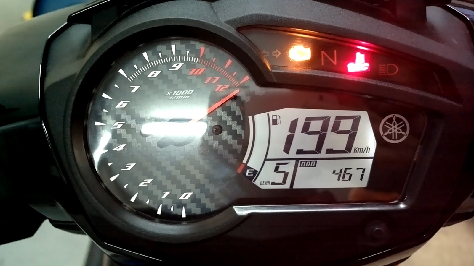 dunia motor setting meter yzr  buddy