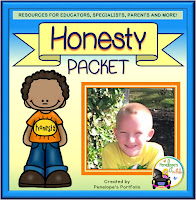 Honesty Character Education - Social Skills Teaching Packet