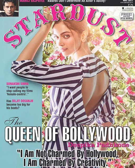Deepika padukone STARDUST INDIA Magazine Photoshoot