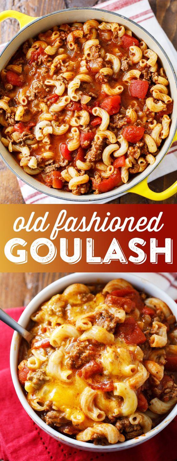 OLD FASHIONED GOULASH