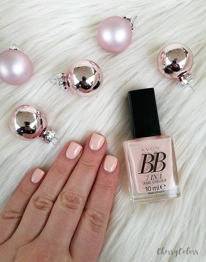 True Colour BB 7-in-1 Nail Enamel in Perfect Pink