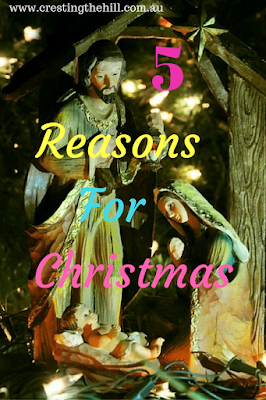 the five reasons why Jesus was born and we celebrate Christmas