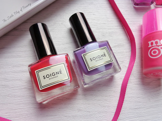 Soigne nail varnishes