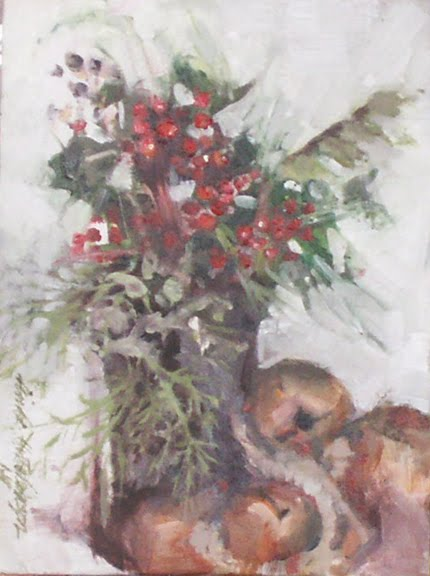 Winterberries and Bells