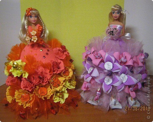Как ребенку своими руками сделать куклу из фото 239