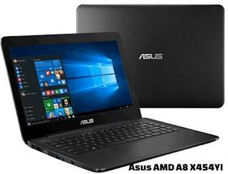 harga laptop asus amd a8 x454yi
