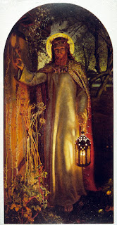 The Light of the World  by William Holman Hunt (1853)