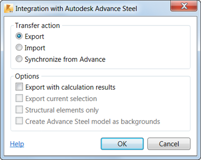 AutoCAD Add-ons: Free Robot-AdvanceSteel Link