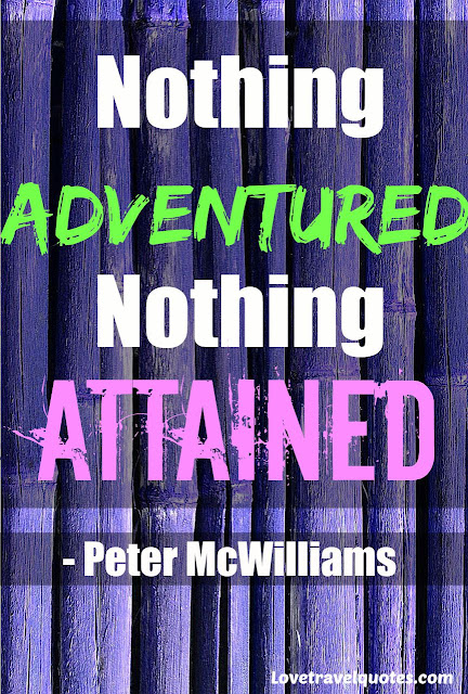 nothing adventured, nothing attained