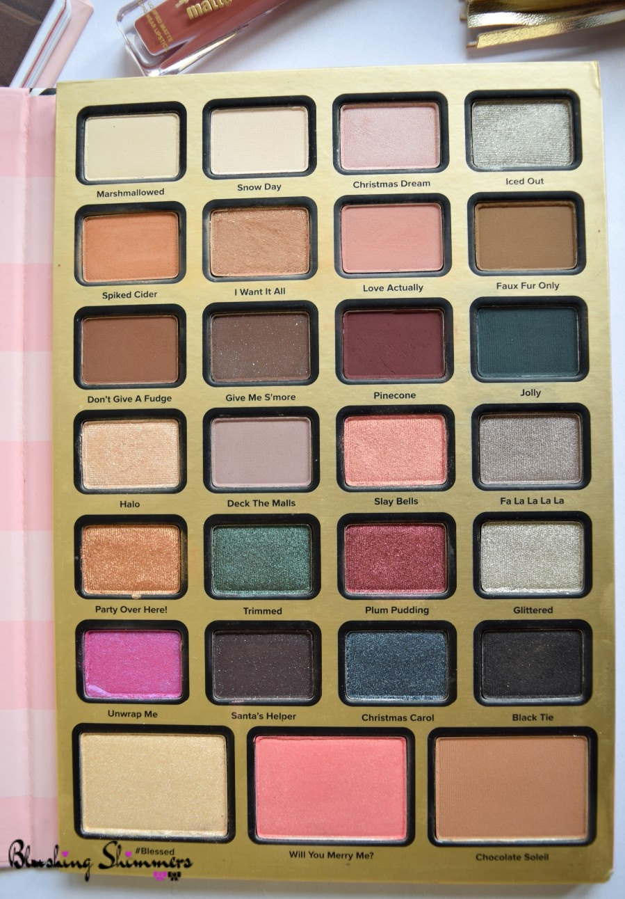 TOO FACED eyeshadow Review