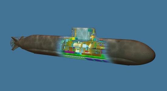 Desain kapal selam Tipe 216