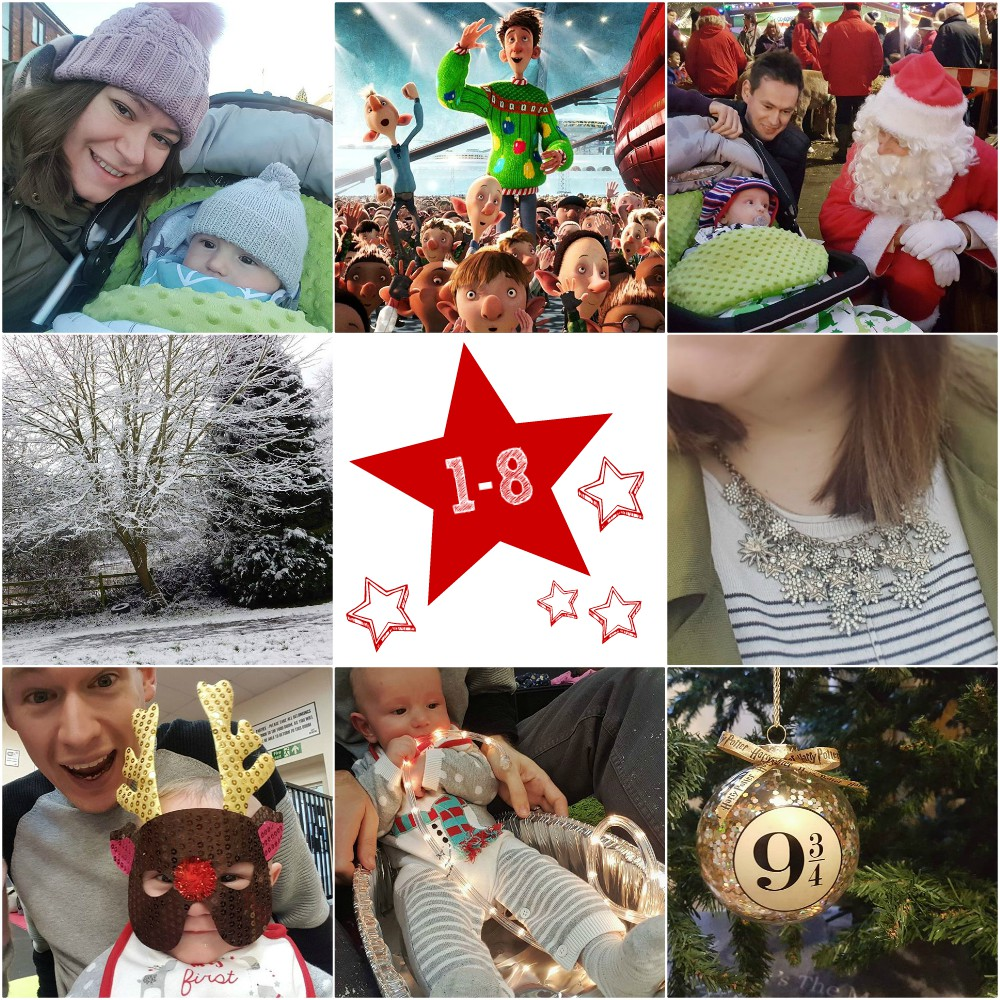 #25daysofchristmas - Days 1-8