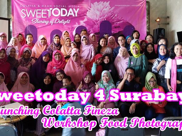 Keseruan Sweetoday 4 Surabaya: Launching Collata Fineza