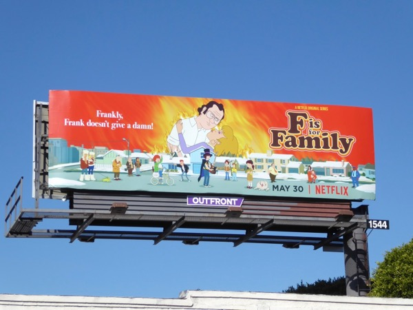 F is for Family season 2 billboard