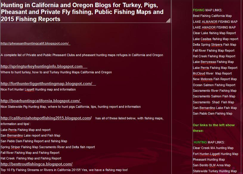 hunting and fishing clubs california oregon, hunting and fishing pricate ranches or lands oregon and calfornia