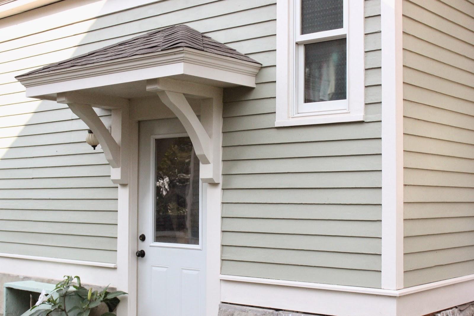 Door Overhangs & Exterior Door Overhang Front Doors Canvas ...