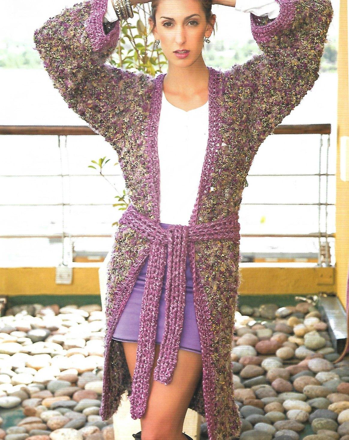 Abrigo combinado lana fantasia pelo jaspeado