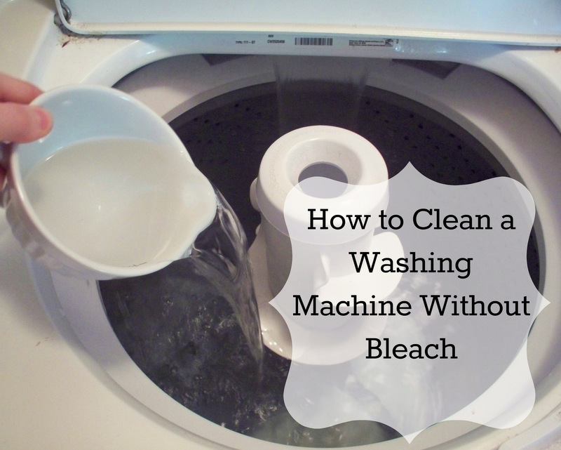 Washing Machine Without Bleach Here We Go With Post 2 In My Spring Cleaning Series