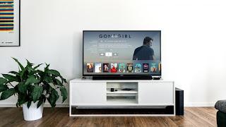 Un écran de télévision