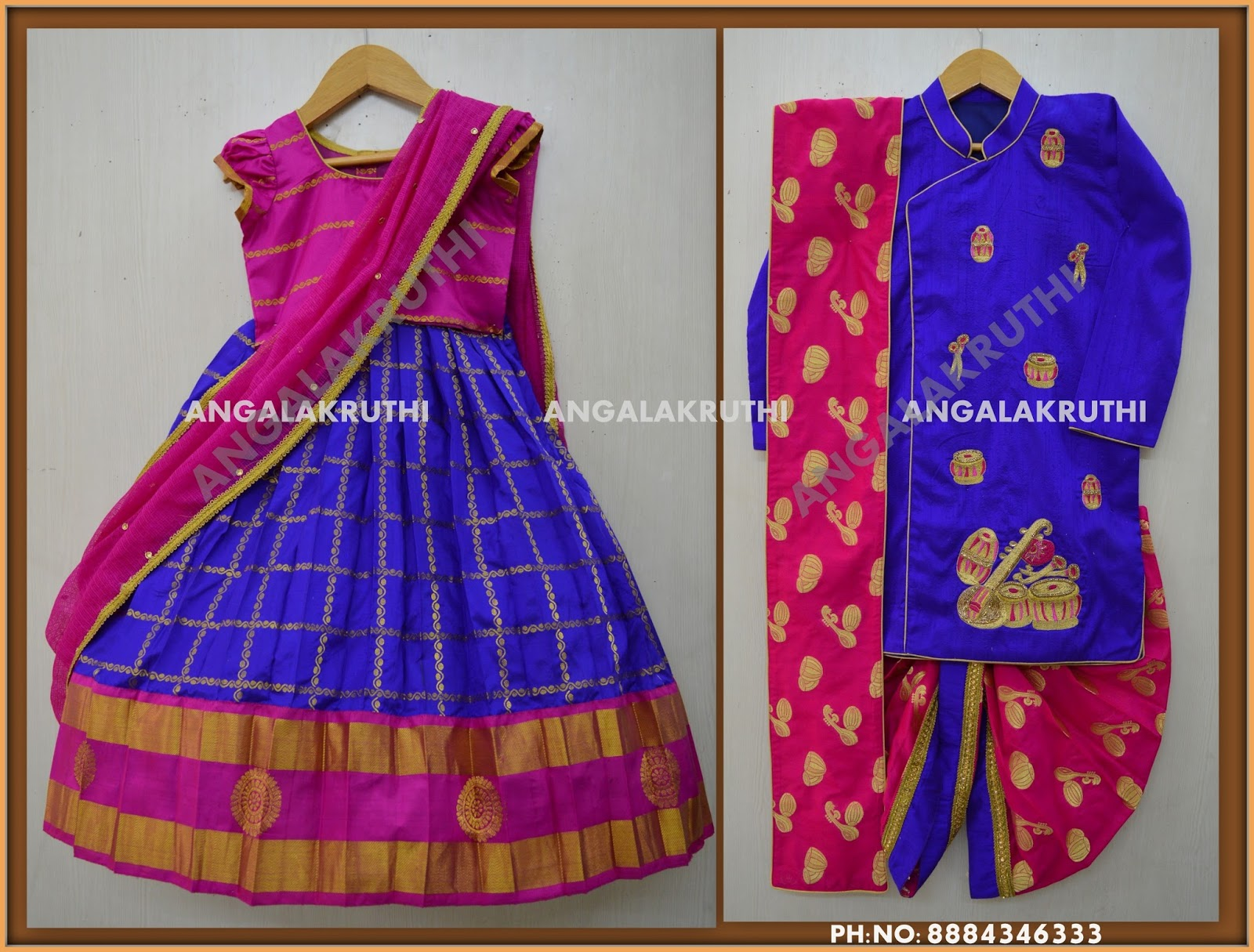 48c5709a04 Traditional party wear designs for girls by Angalakruthi boutique bangalore  - 8884347333