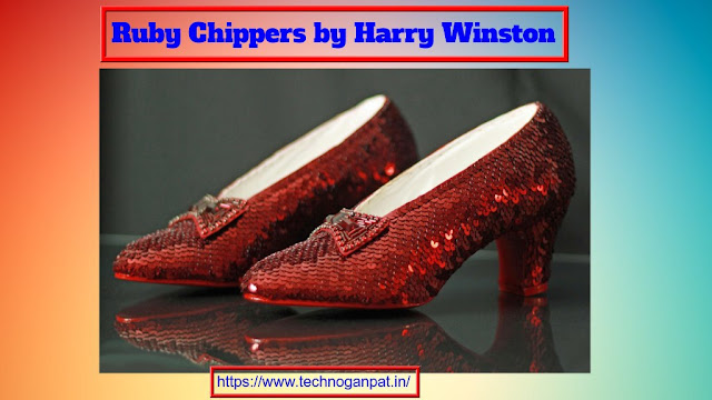 Ruby Chippers by Harry Winston