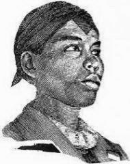 foto jenderal sudirman memakai ikat kepala
