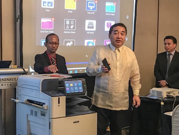 Fuji Xerox DocuCentre-VII C Demonstration
