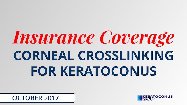 Insurance Coverage for Corneal Collagen Crosslinking