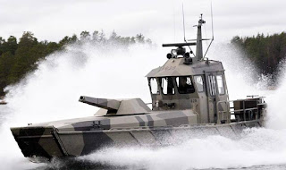 Patria Nemo Mortar Boat