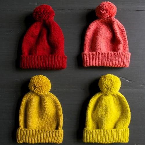 Classic Cuffed Hat - Free Pattern