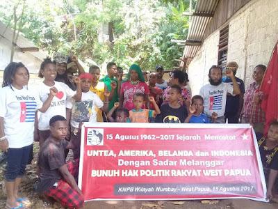 KNPB Wilayah Numbay : New York Agreement Membunuh Hak Politik Bangsa Papua