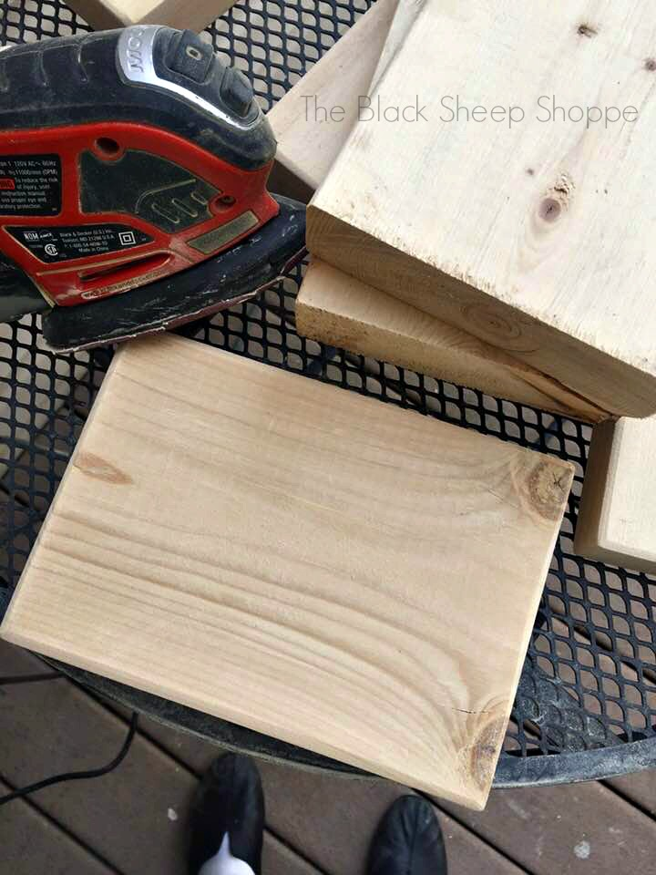 Repurposing wood scraps
