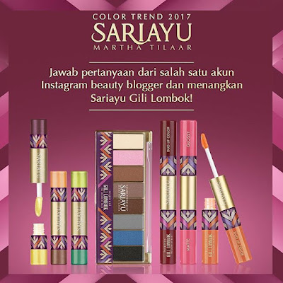 Pesona Warna Eye Shadow Sariayu 2017