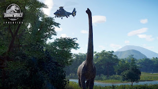 Jurassic World Evolution Nintendo Wallpaper