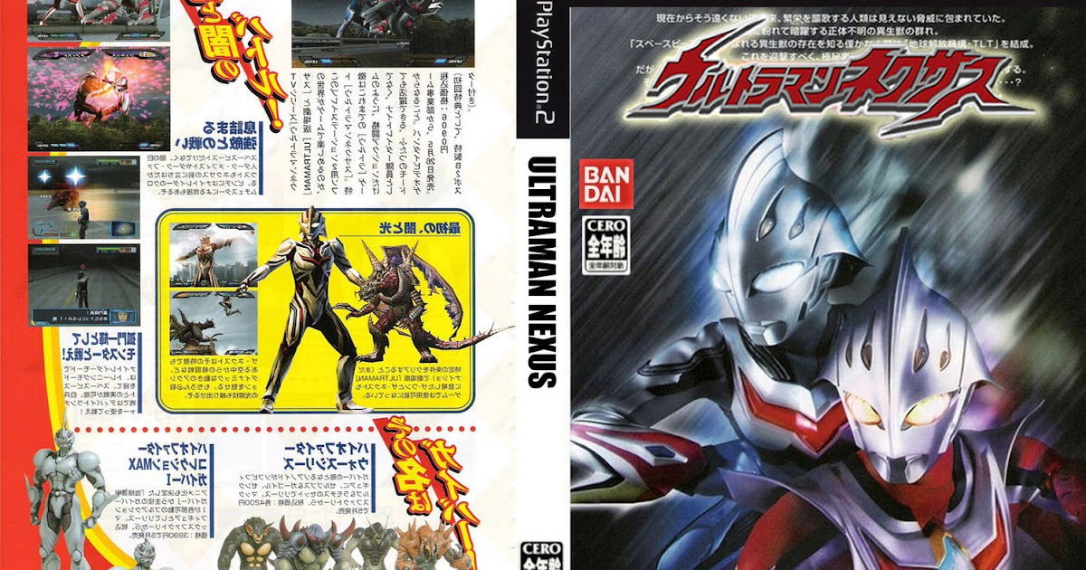 Nadzmi Gta Mods Tokusatsu Ultraman Nexus Ps2 Iso