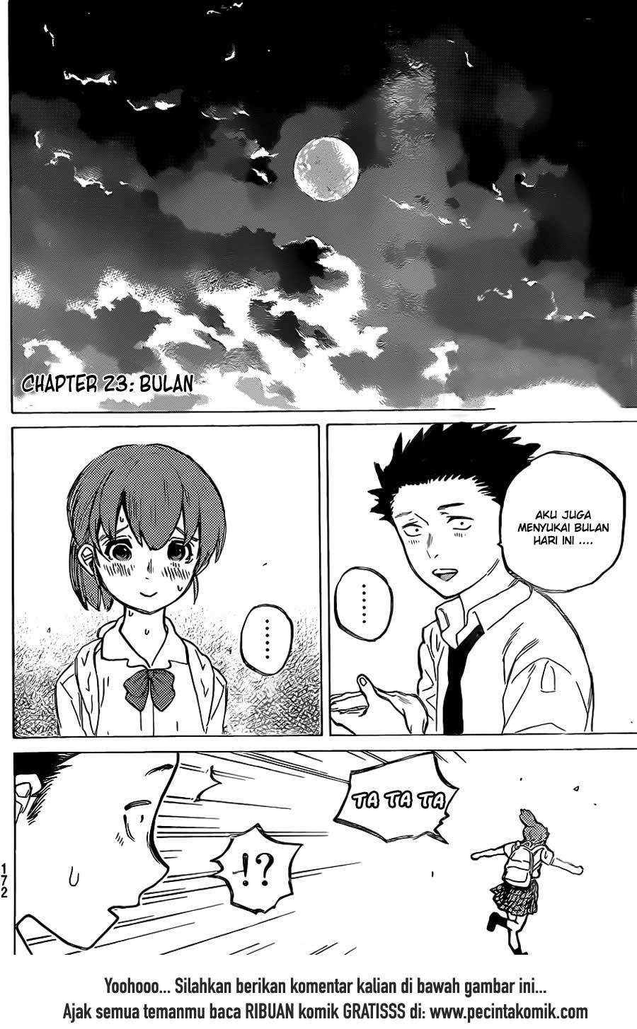 Koe no Katachi Chapter 23-20