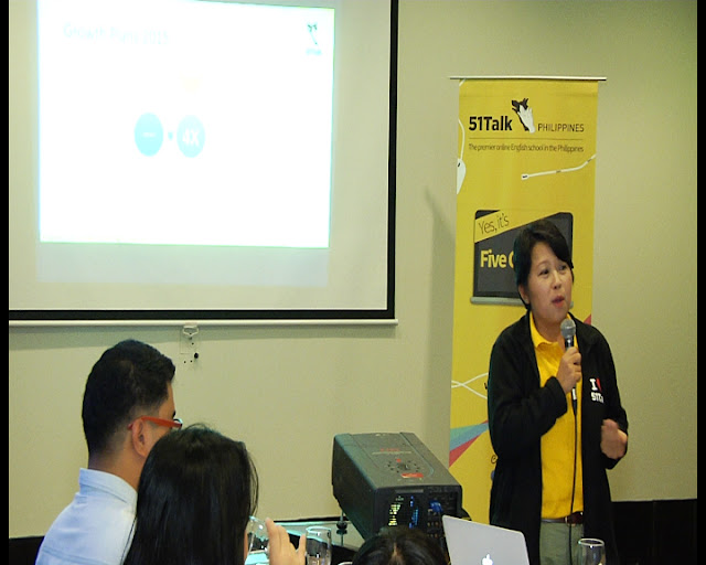 Ms. Jen, VP-Operations Philippines of 51Talk