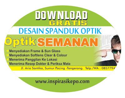 download-gratis-desain-spanduk-optik-cdr