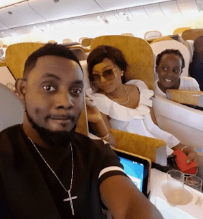 Lovely Selfie Of Comedian AY And Family On A Vaction Trip To Dubai